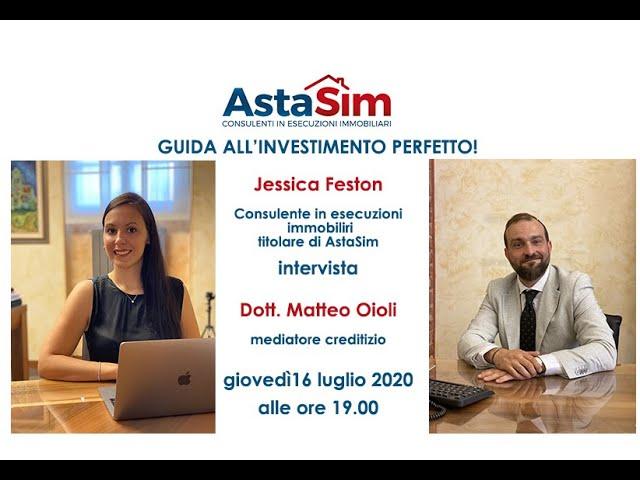 AstaSim presenta la nostra Guida all'investimento perfetto ospite Dott  Matteo Oioli