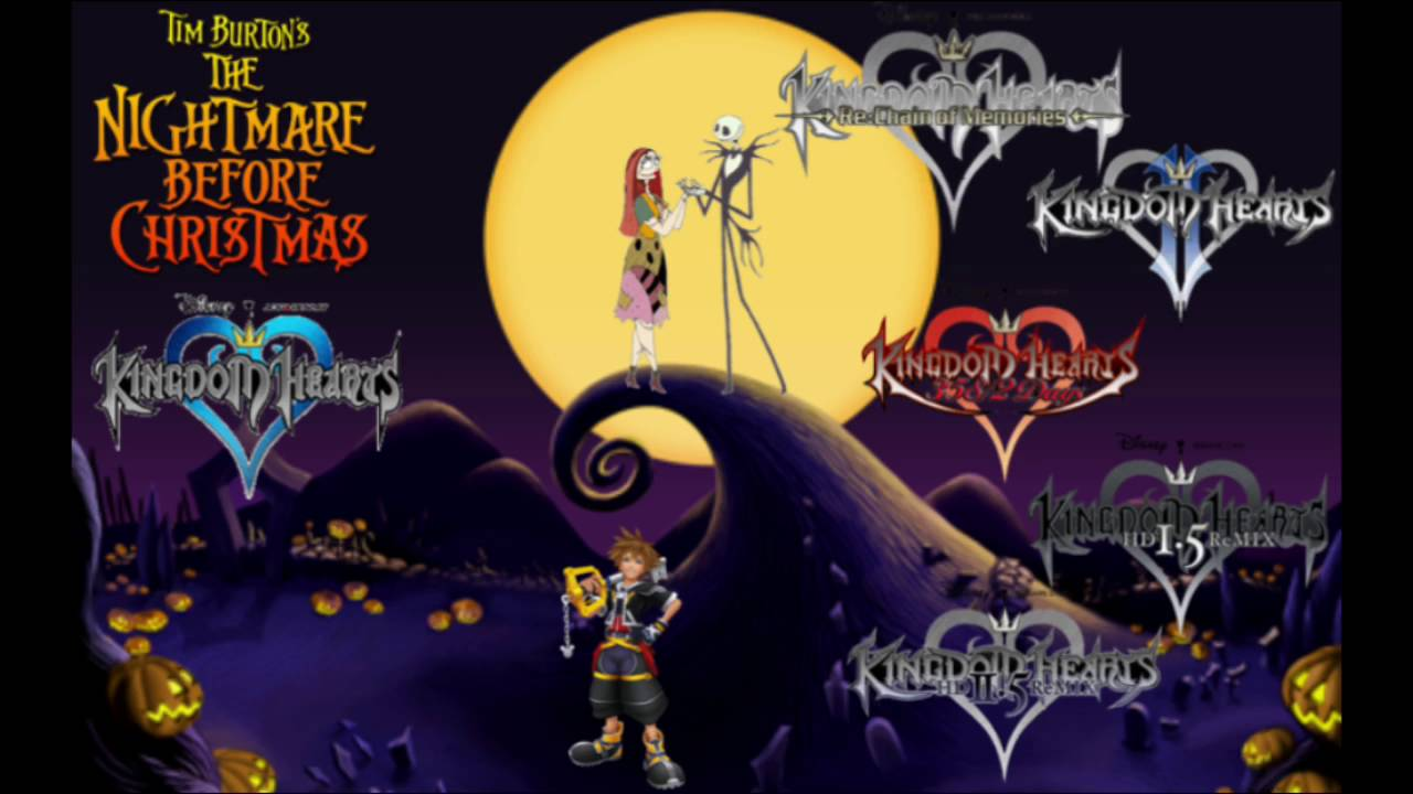 Music Mashup: The Nightmare Before Christmas & Kingdom Hearts ...