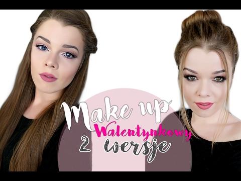 GRWM Dwie propozycje makijażu na walentynki naturalna/ smokey #013