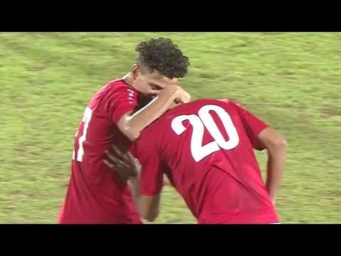 ملخص مباراة منتخب اليمن ومنتخب فلسطين | تعليق محمد السعدي | التصفيات الآسيوية المزدوجة