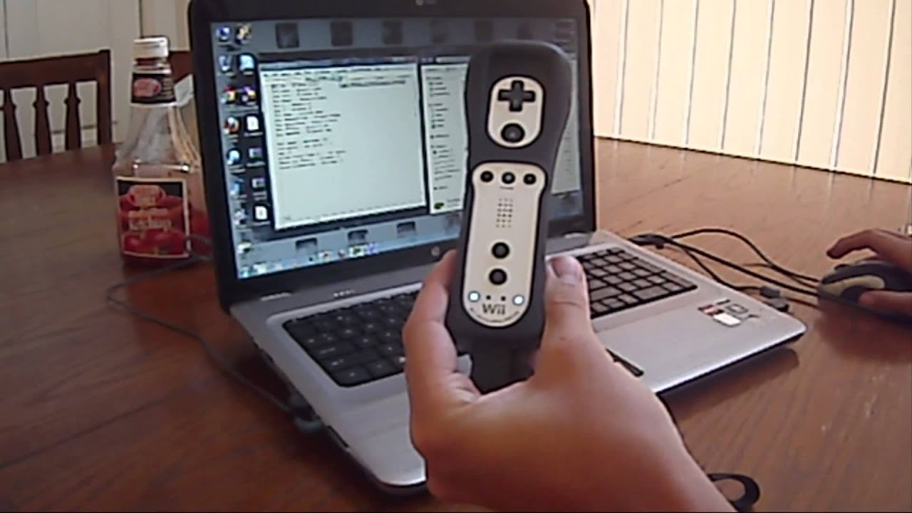 HMN - Wiimote & Nunchuk as PC Mouse or Controller GlovePIE ...