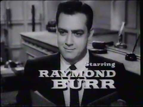 The Defense Rests:  A Tribute to Raymond Burr  Part 1
