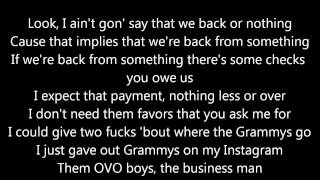 Video Big Sean ft. Drake & Kanye West - Blessings (OFFICIAL LYRICS) download MP3, 3GP, MP4, WEBM, AVI, FLV Juni 2018