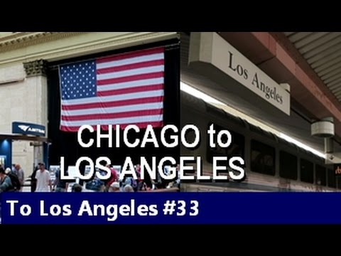 Amtrak - Southwest Chief - Chicago to Los Angeles - Episode 33