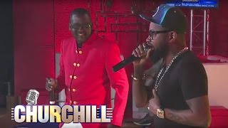 Ferre Gola performs on Churchill Show