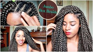 crochet jumbo box braids in 2 hours   review demo