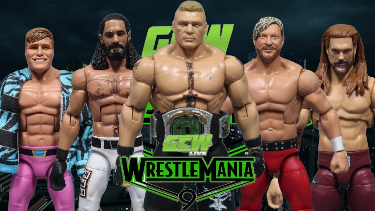 GCW Wrestlemania 9 Full Show (WWE Action Figure PPV)