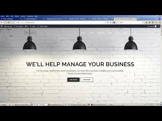 Como mudar, mover site wordpress para outra pasta/endereço/subdomínio do mesmo servidor