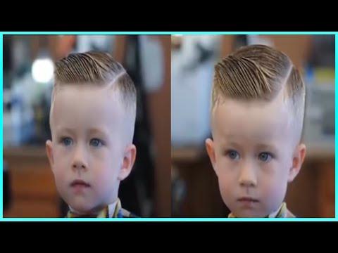 How To Cut Boys Hair Best Modern Boys Hair Style 2017 Youtube