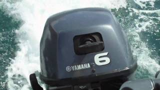 Yamaha 6HP engine sound HD