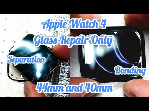 Apple Watch 4 Glass Repair Only - Glass Replacement - DIY