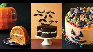 How To Decorate Halloween Cake 🍰 Top 10 Perfect Cake Decorating Ideas In The World 2018
