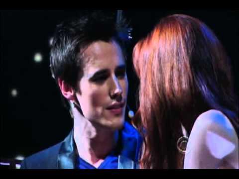 2011 Tony Awards  SpiderMan  Reeve Carney and Jennifer Damiano