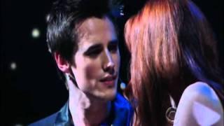 2011 Tony Awards - SpiderMan - Reeve Carney and Jennifer Damiano
