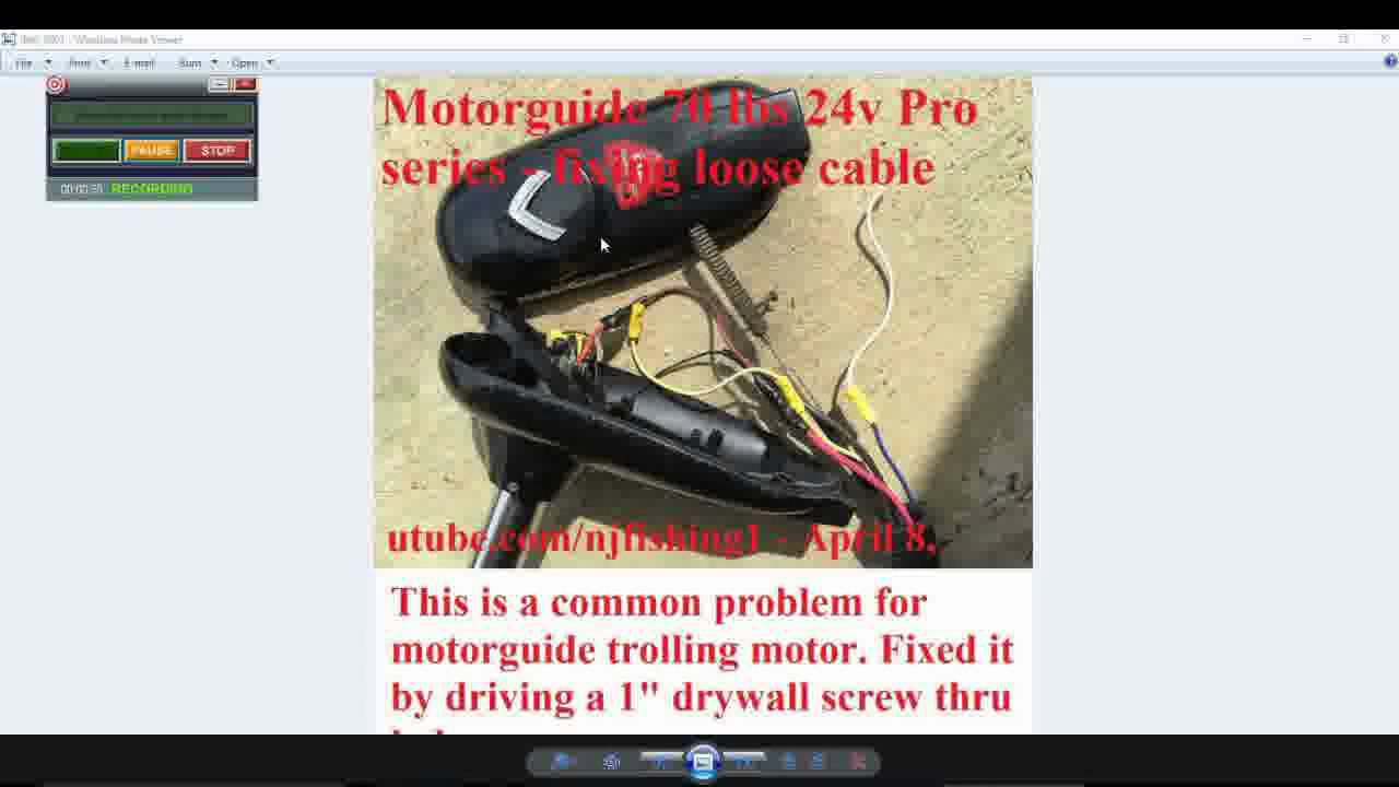 motorguide trolling motor problems