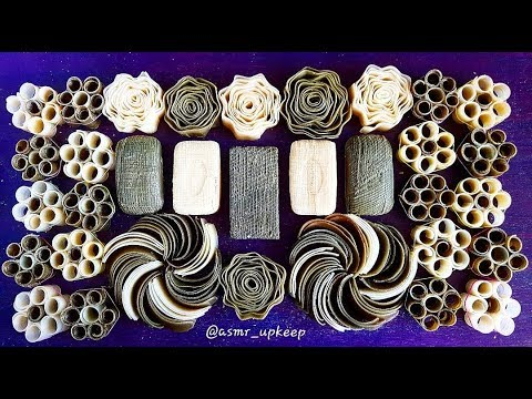 Very Satisfying Videos. Dry Soap Cutting And Carving. Relaxing Soap Crushing. ASMR No Talking.