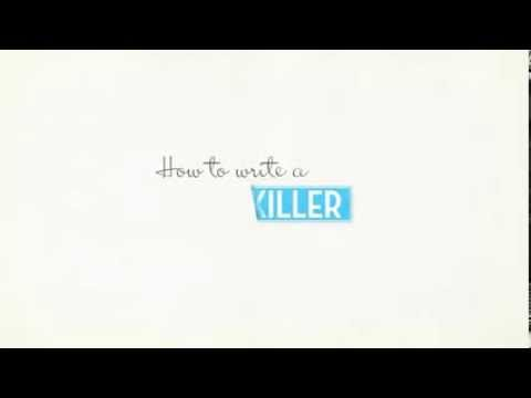 How to write a killer resume - YouTube - how to write a killer resume