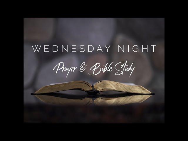 Wednesday Evening September 15, 2021, pastor John Tilley