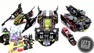 THE LEGO BATMAN MOVIE: Ultimate Batmobile 70917 Part 4 (Batwing) - Let's Build!