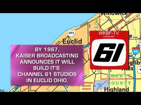 Euclid History - WKBF TV, Northern Ohio's First Commercial UHF Station