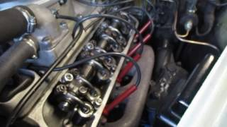 BMW 501 502 V8 Kipphebelwelle in Aktion