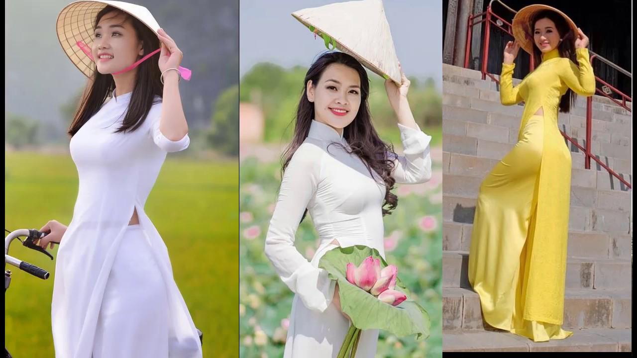 Nón lá và áo dài trong đời sống văn hóa người Việt.