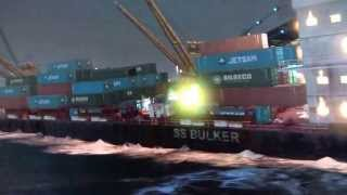 GTA 5 blowing up the cargo ship
