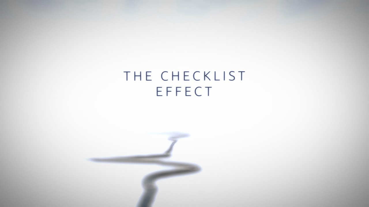 The Checklist Effect Trailer