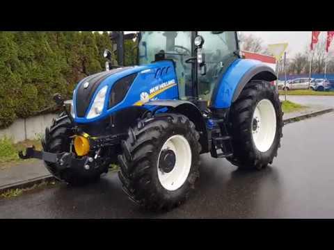 New Holland T5 100 >> SOLD ! VERKAUFT ! Traktor New Holland T5 100 EC, 2017, 6h, FH, FZW, 4dw, Wegberg, Germany - YouTube