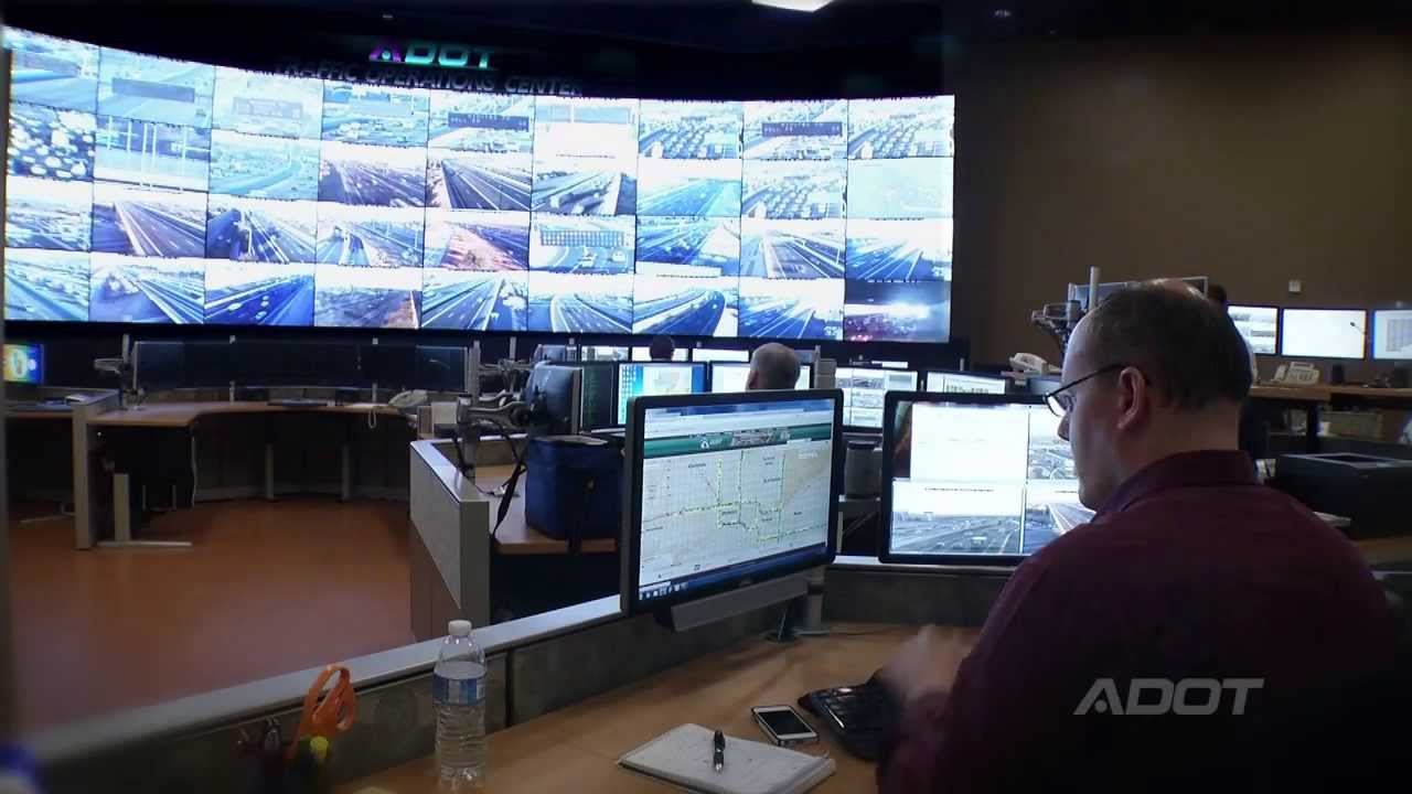Adot S Traffic Operations Center Youtube