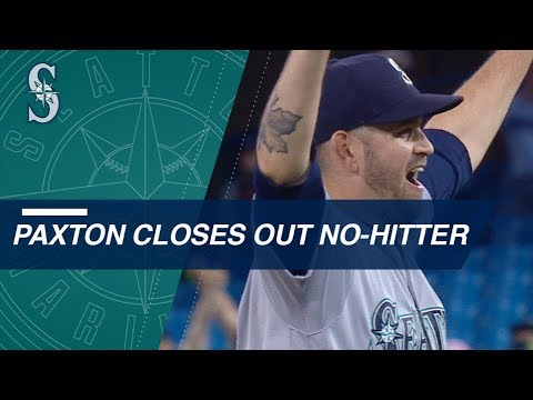 James Paxton completes his no-hitter in the 9th