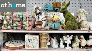 AT HOME STORE EASTER 2019 SPRING SHOP WITH ME