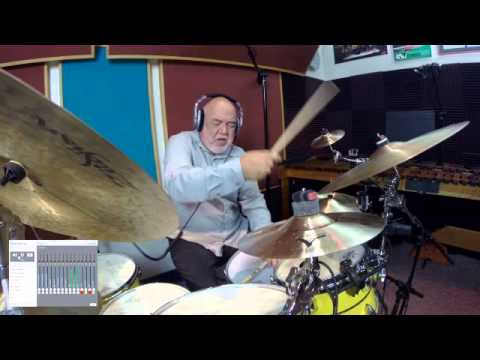 "Peter Erskine plays Mintzer Big Band Essentials app ""Ellis Island"""