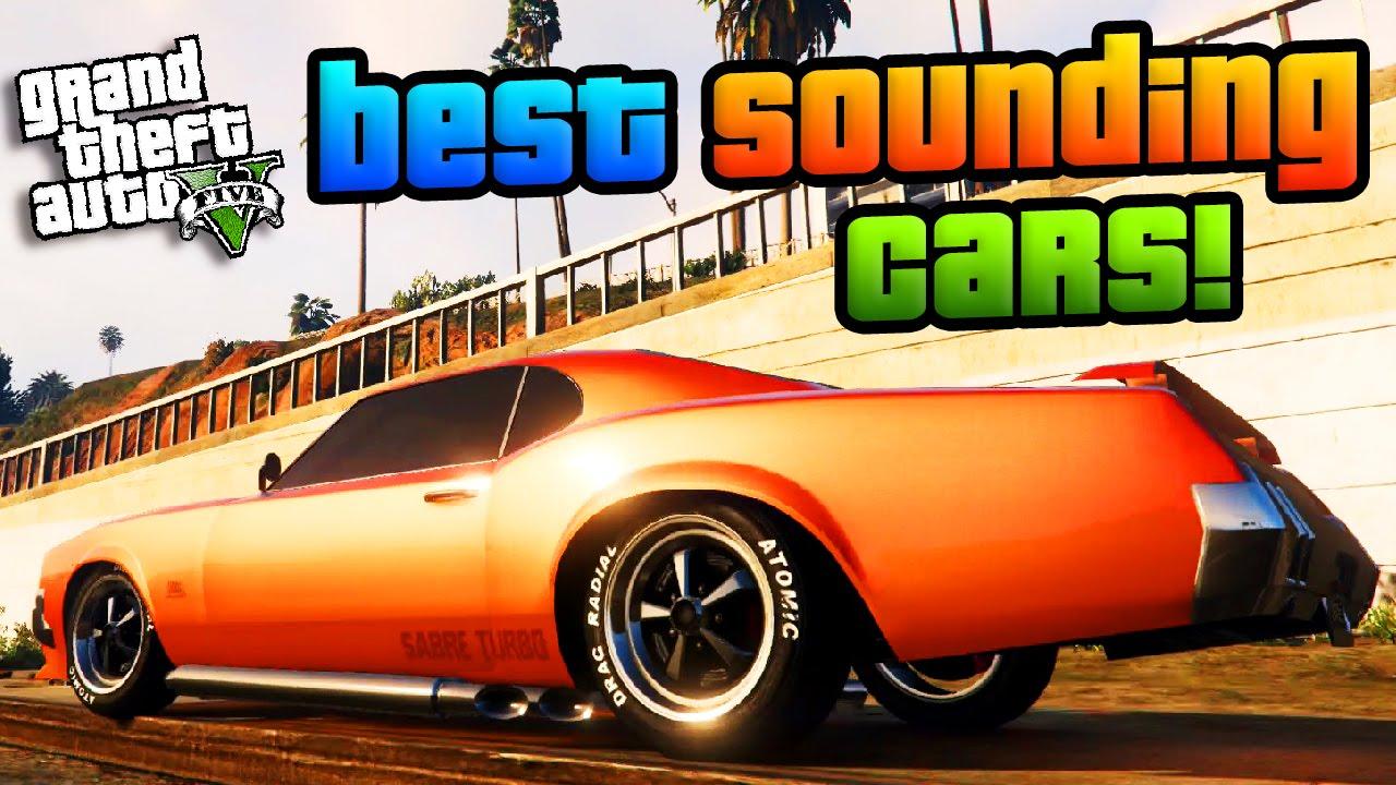 Gta online the best sounding cars best sounding cars showcase gta 5 best cars youtube