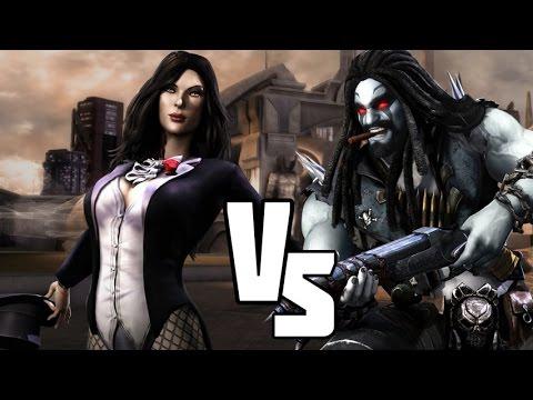 INJUSTICE:  MAGIC Vs ALIENS (HD) Zatanna Versus Lobo