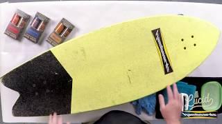 Hamboards Lucid Grip Application Demonstration