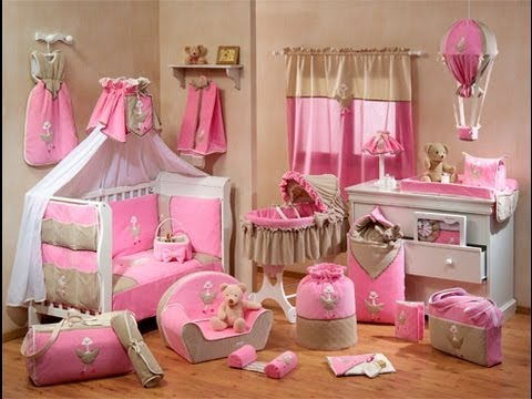 Room tour nuestro cuarto youtube for Decoracion de dormitorios bebe nina