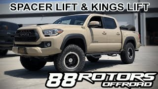 Download Pair Of Tacoma Trucks Lifted on Fox Suspension