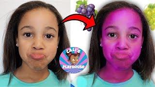 Cali's Face Turns Purple | Pretend Magic | Cali's Playhouse