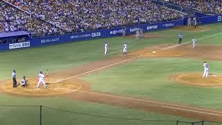 2018年セントラルリーグ公式戦 東京ヤクルトスワローズ 対 読売巨人軍.
