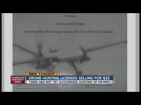 $25 Drone-hunting Licenses Not Valid