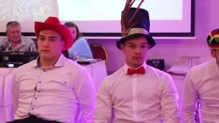 Конкурс шляпы на свадьбе 04.10.17 ресторан Арт холл Одесса