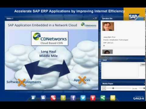 Accelerate SAP ERP Applications by Improving Internet Efficiency