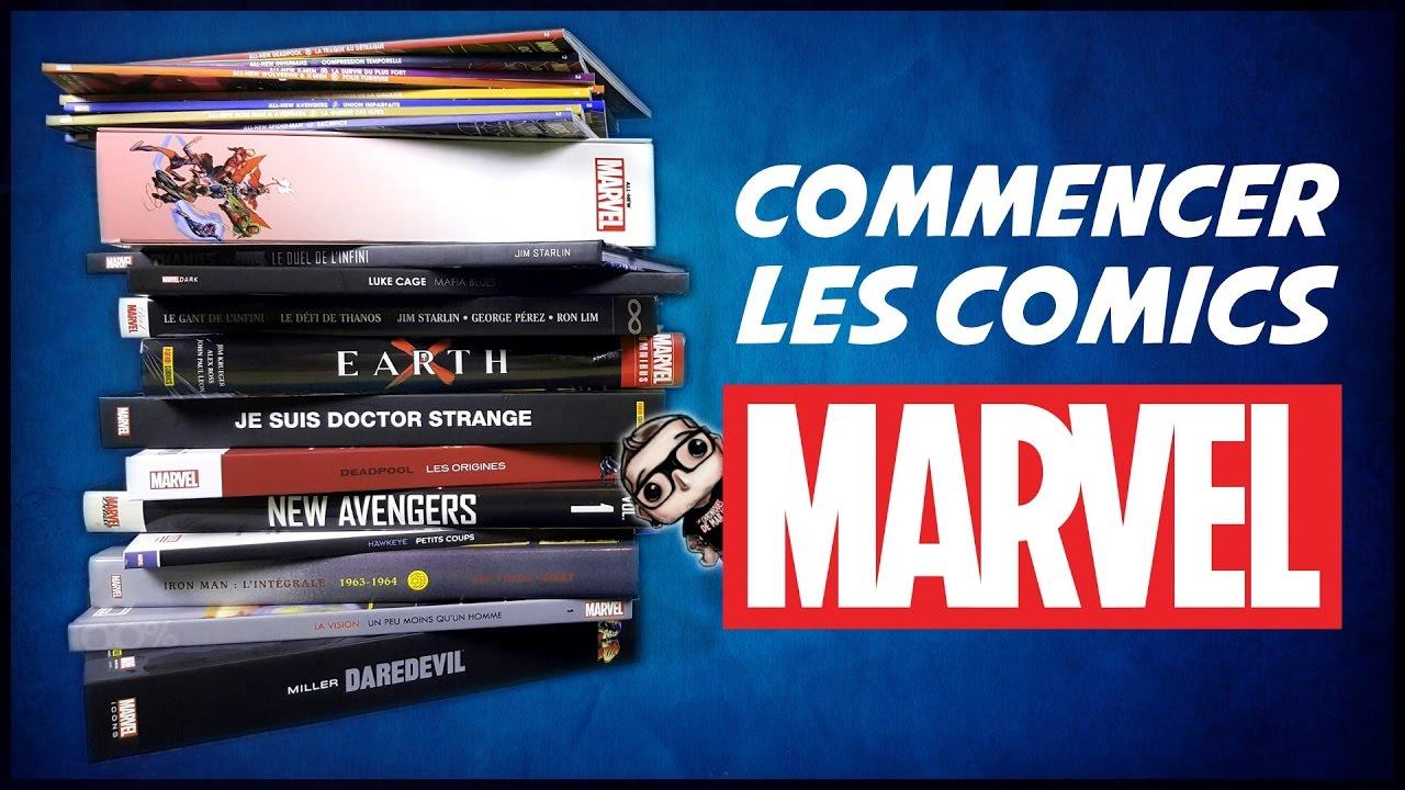 Commencer les comics MARVEL !