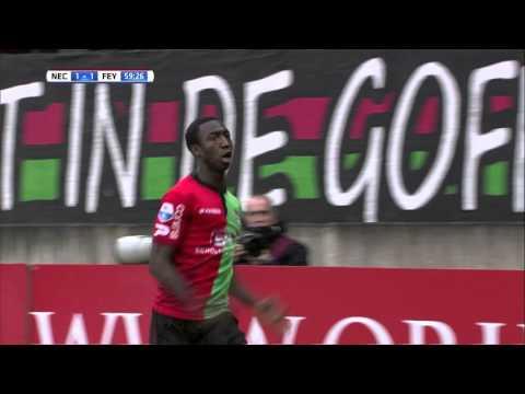 Samenvatting NEC - Feyenoord 2015-2016