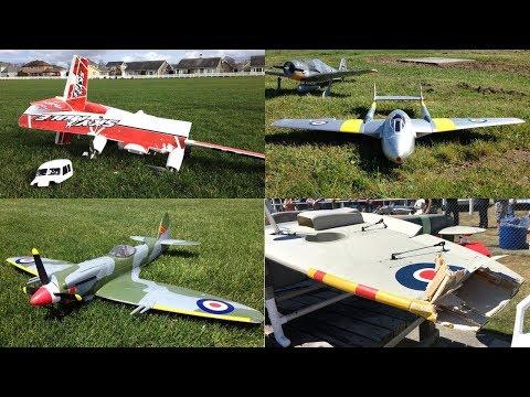 GBLynden's RC Plane Crash Compilation - Volume Three