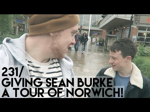 GIVING SEAN BURKE A TOUR OF NORWICH!