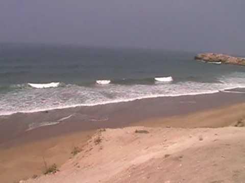 Surfing in Aourir, Agadir, Morocco