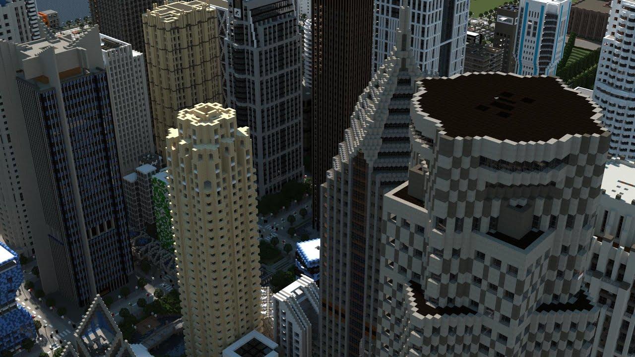 Майнкрафт города