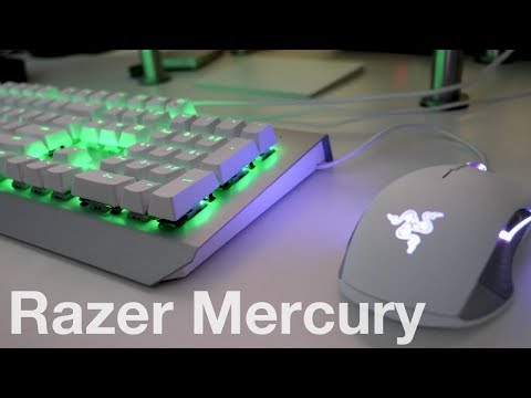 Razer Mercury Mouse and Keyboard - Unboxing and First Look